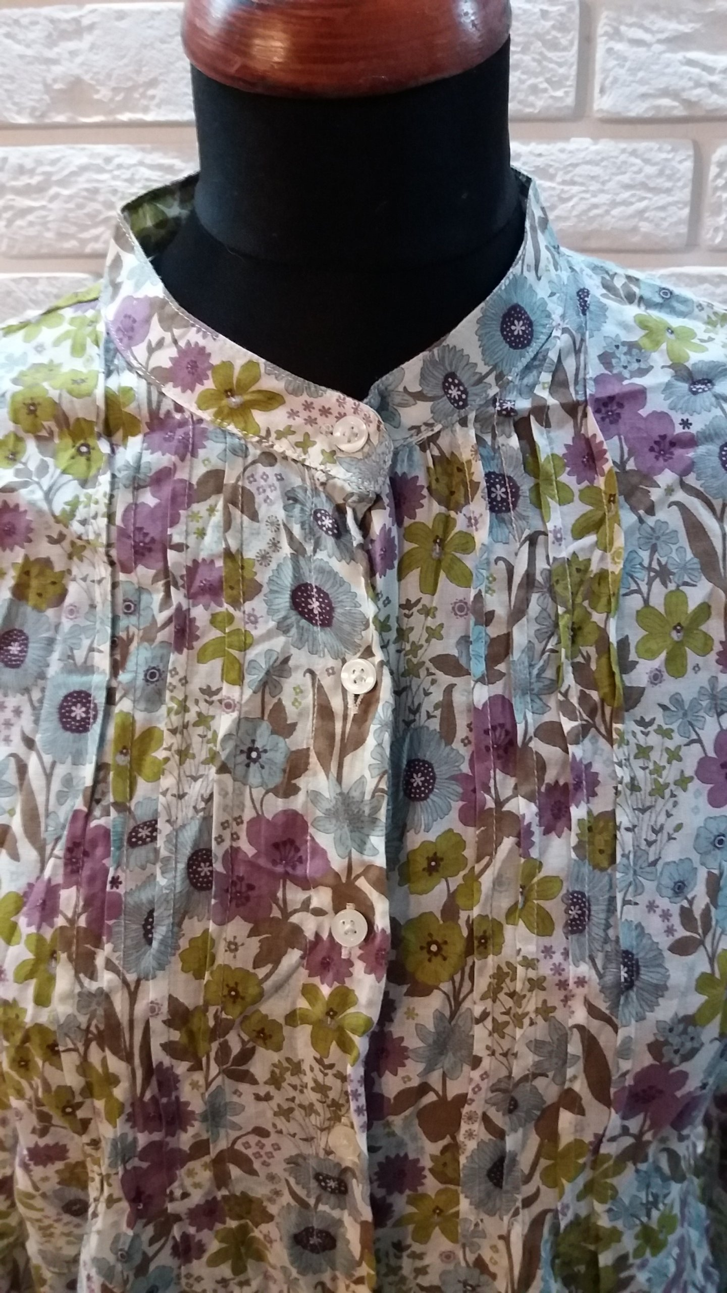 4943578eae1f4 MONTEGO bluzka damska w kwiatuszki 38 - 7181600618 - oficjalne archiwum  allegro