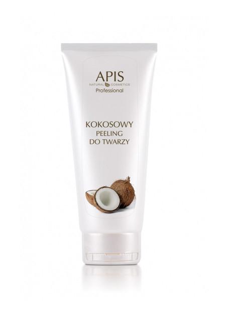 APIS Kokosowy peeling do twarzy