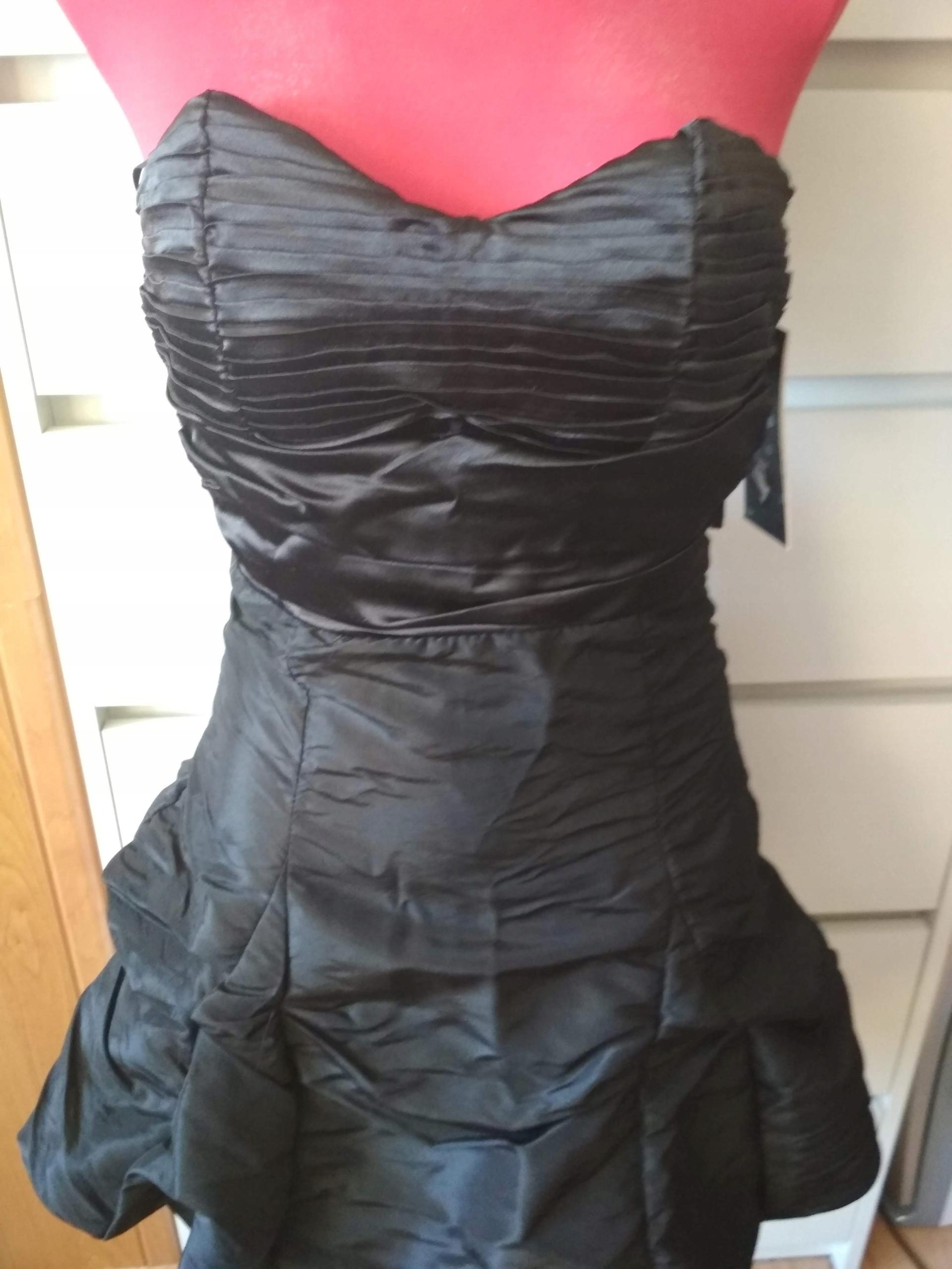 15b08a1d78 sukienka czarna bombka xs 34 - 7615285586 - oficjalne archiwum allegro