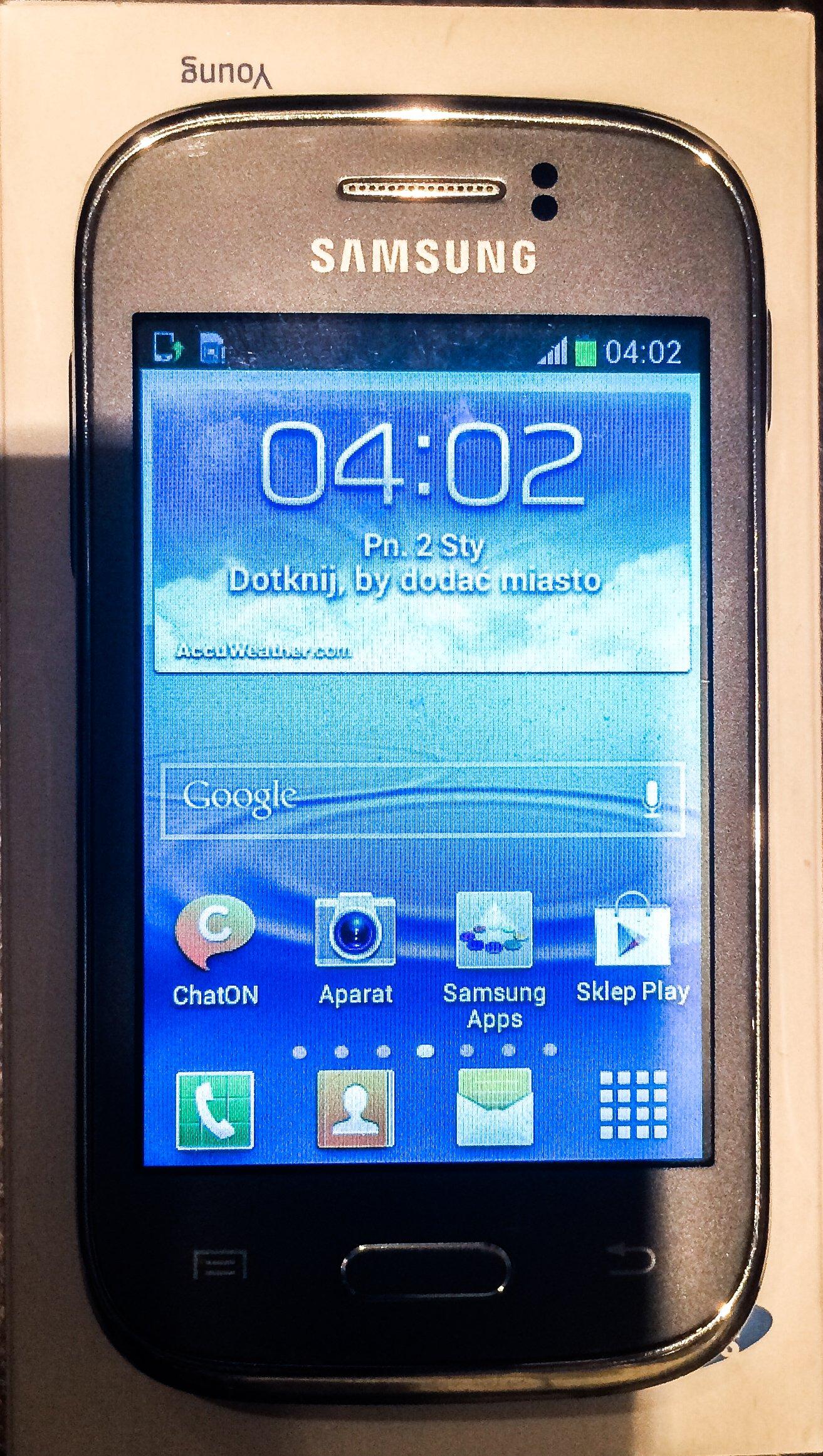 Samsung Galaxy Young Gt S6310 7266505594 Oficjalne Archiwum Allegro New
