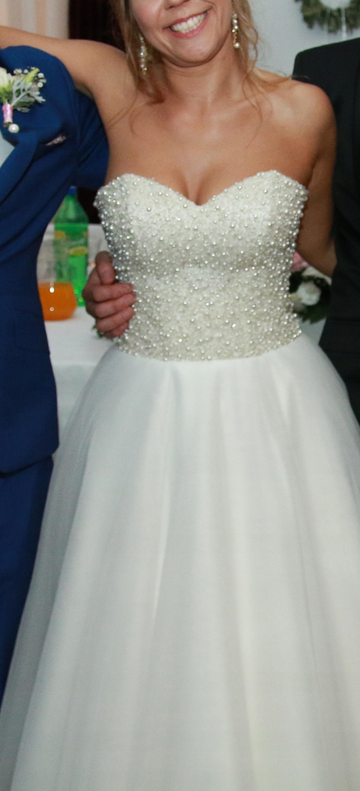 Suknia ślubna Perły Gorset 36 40 Princesska 7627348935 Oficjalne