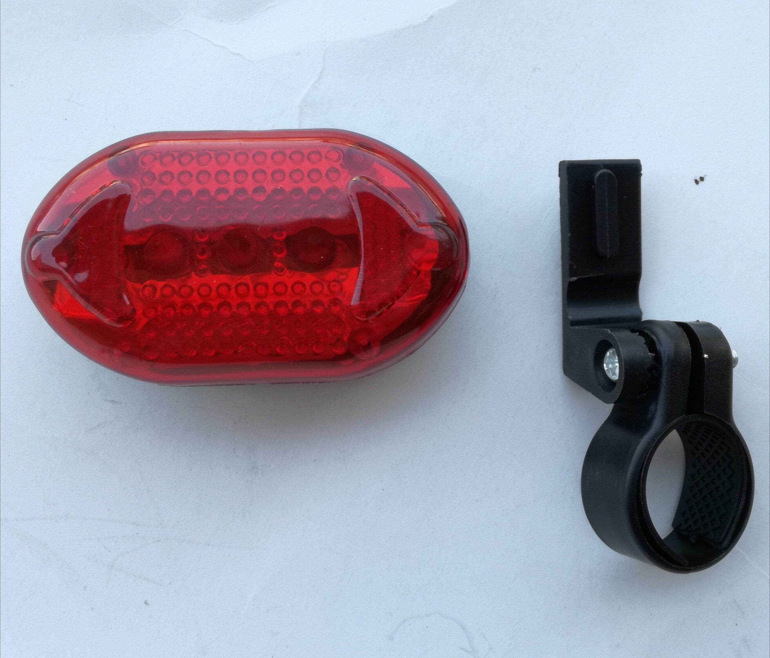Nowa Lampka Tylna Rower Oświetlenie Rowerowe Tył