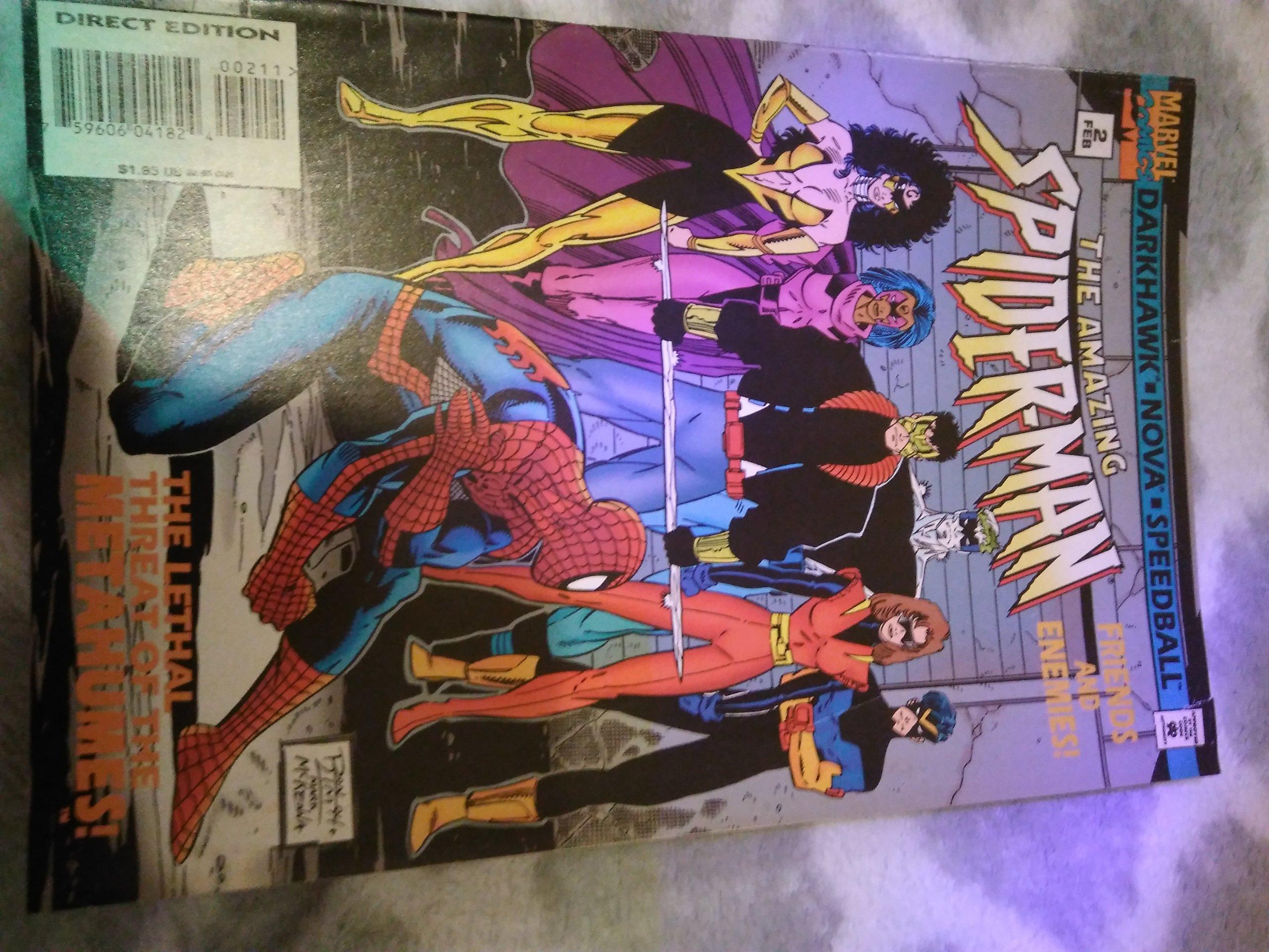 Spiderman 03/1995 z usa