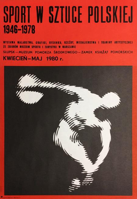 Plakat Wojciech Zamecznik Sport W Sztuce Polskiej