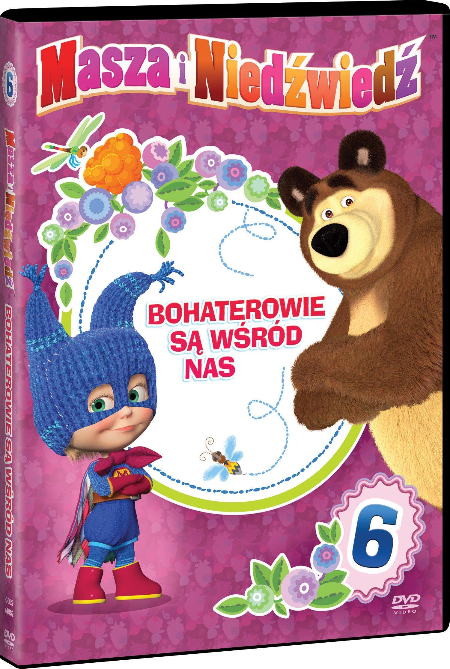 Płyta DVD Masza i niedźwiedź, część 6 DVD