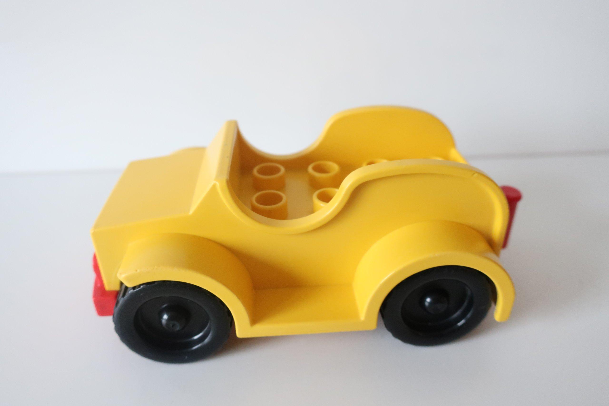 Kt Lego Duplo Autko żółte 7104242011 Oficjalne Archiwum Allegro