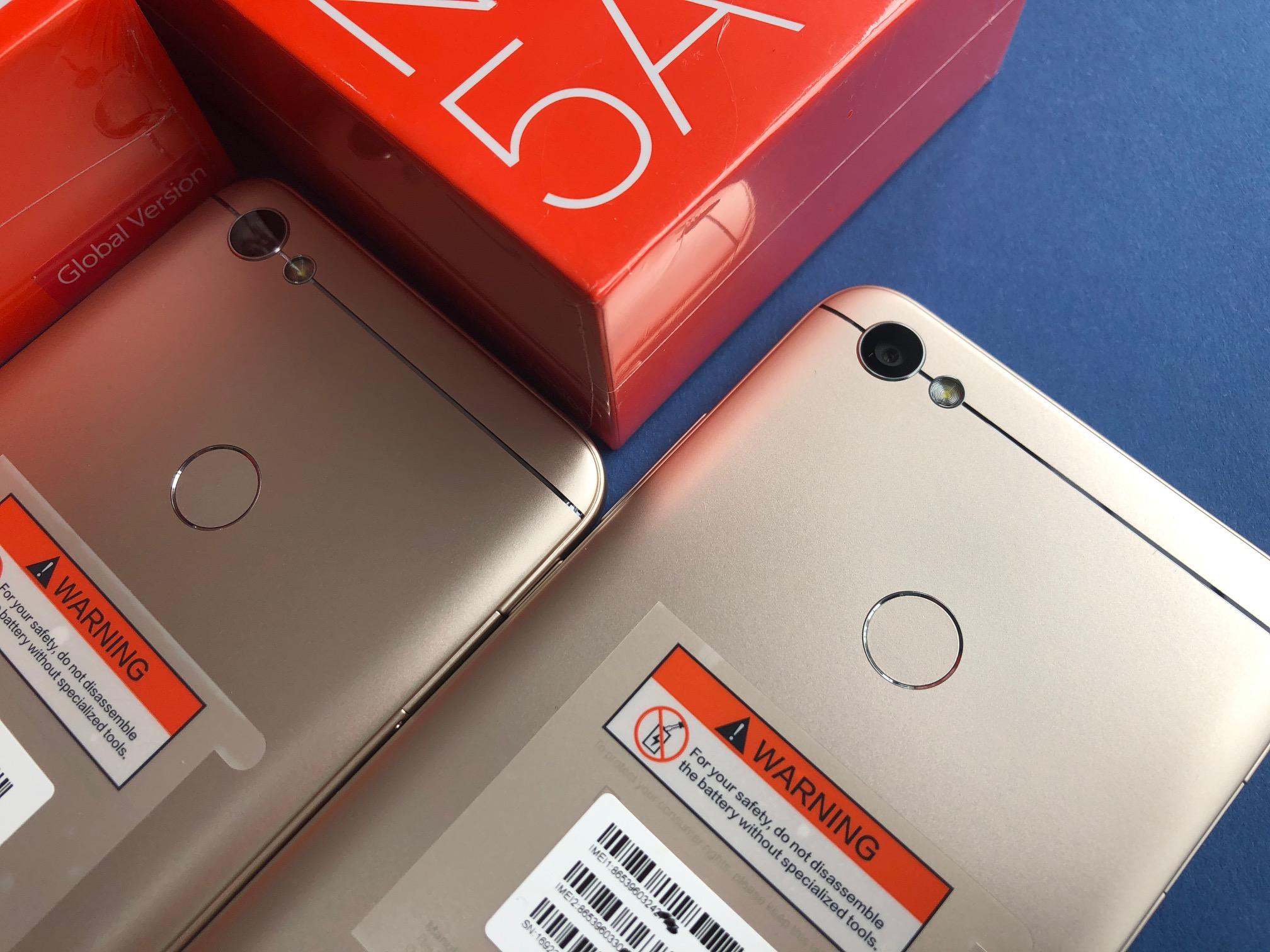 """Xiaomi Redmi Note 5A Prime 3 32GB Złoty KRAK""""W 599"""