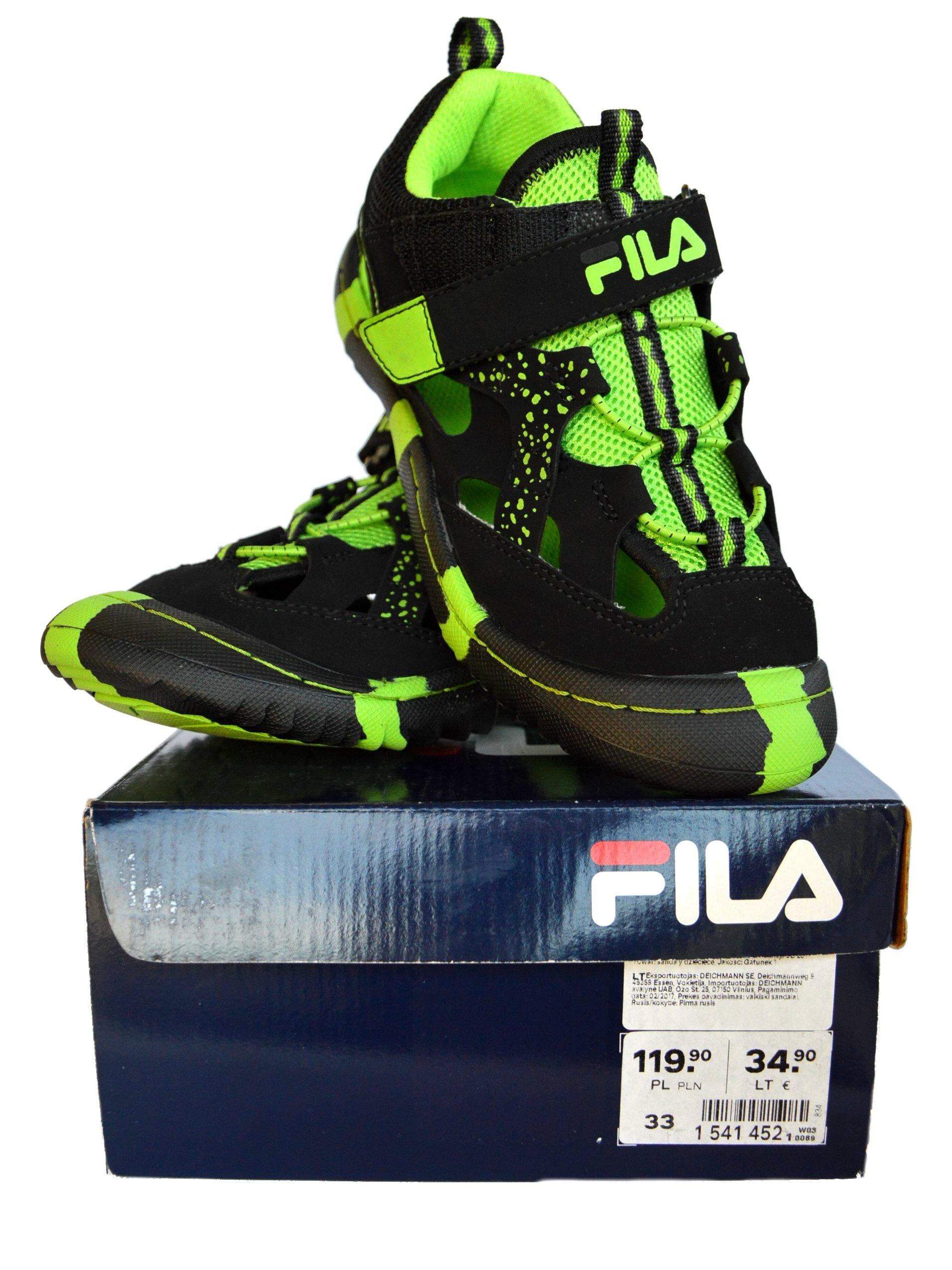 wyglądają dobrze wyprzedaż buty różne kolory kupować nowe Buty dziecięce sportowe sandały sandałki FILA - 32 ...