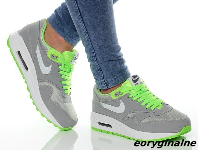 Buty damskie Nike Air Max 1 555766 013 Szare
