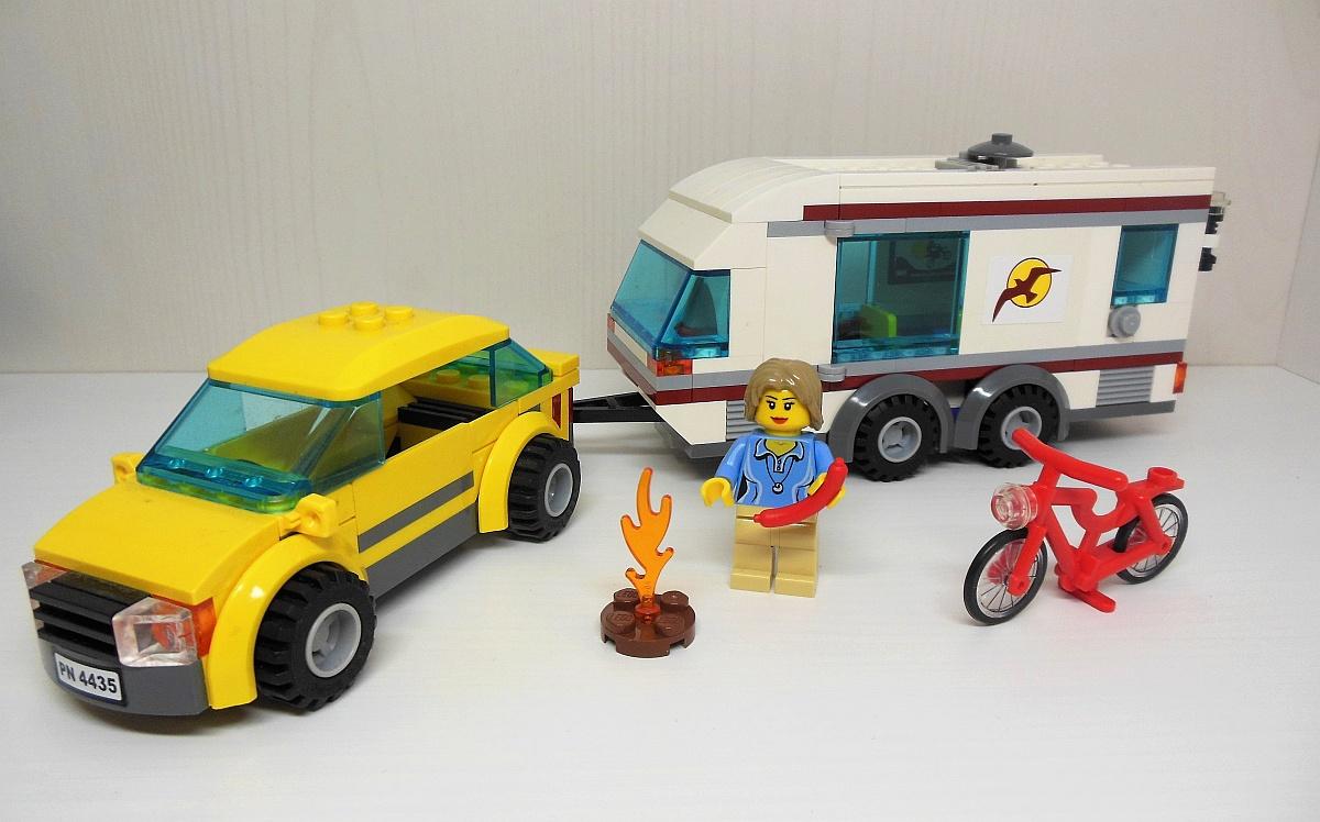 Lego Samochód Z Przyczepą Kempingową 4435 7299769999 Oficjalne