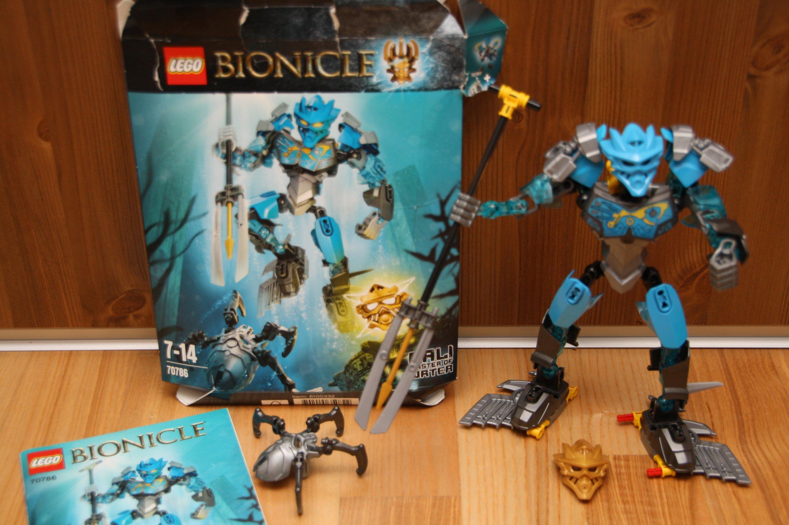 Lego Bionicle 70786 Gali Władczyni Wody 7191997822 Oficjalne