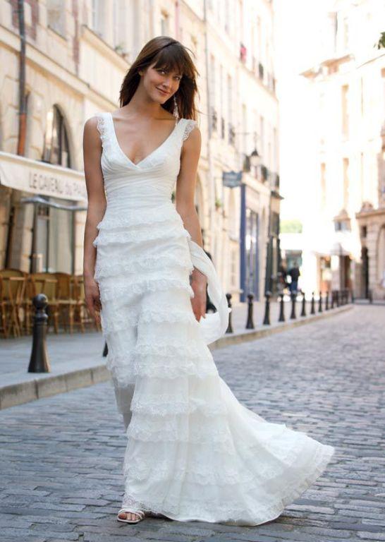 0e551af373 Exalto Cymbeline koronkowa suknia ślubna 36 - 7217297662 - oficjalne ...