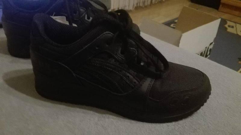 buy popular 7cc46 366ec Asics gel lyte III czarne buty podeszw zalando spo
