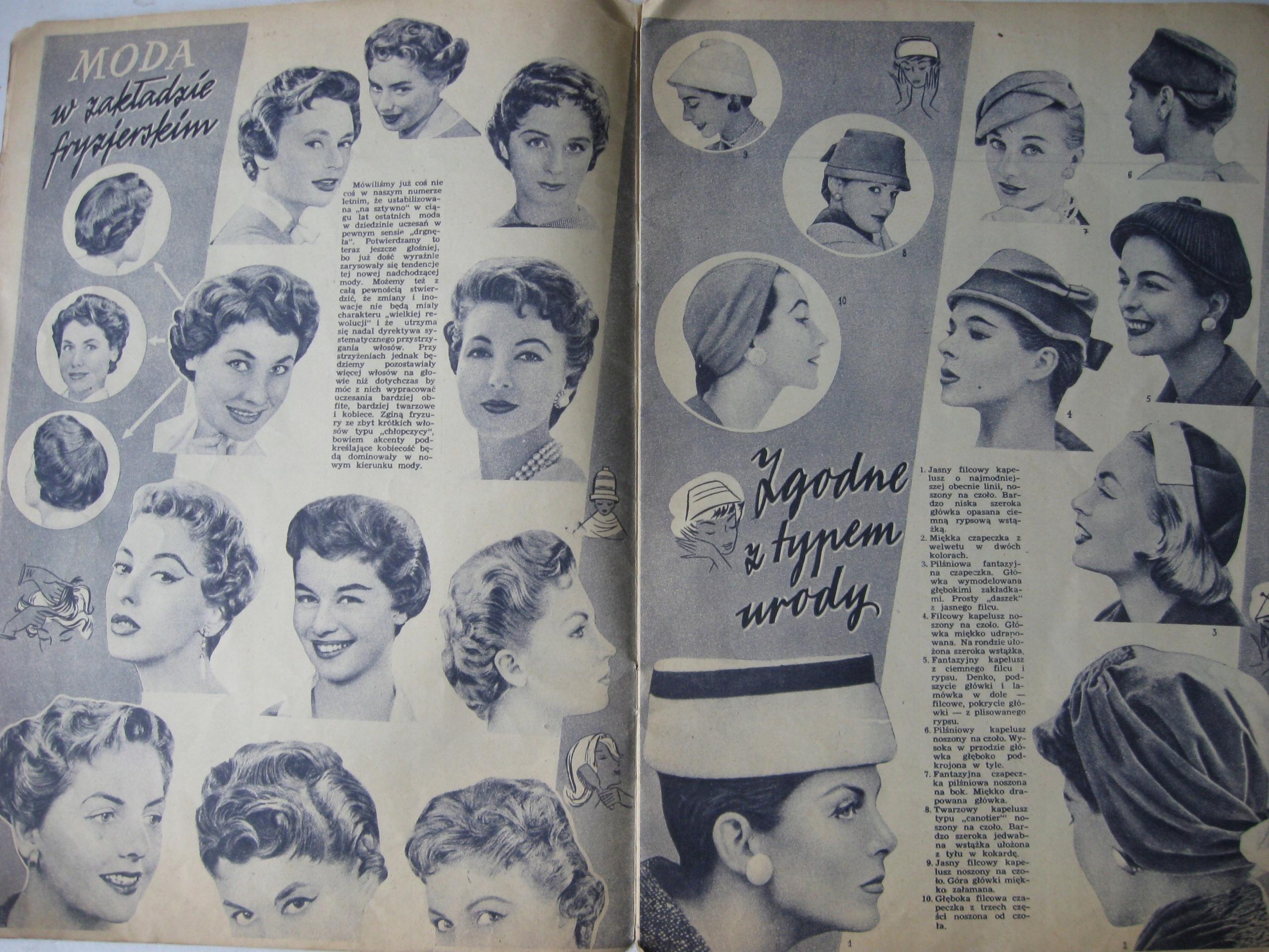 64a68d04c805 MODA Katalog mody - Jesień 1956 - 7579182959 - oficjalne archiwum ...