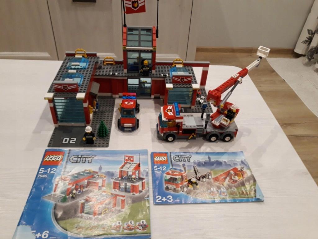 Straż Pożarna Lego City 7945 Instrukcja 7683275107 Oficjalne