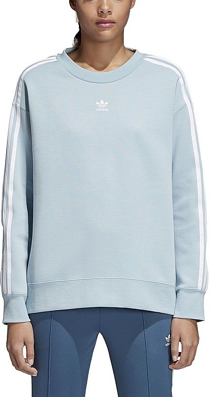ac774a0d9fe85 Adidas Bluza TREFOIL CREW SWEATER (34 XS) Damska - 7272707668 ...