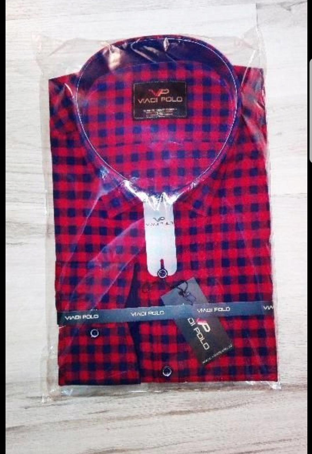 9f9e495a55e99c Koszule męskie w kratę. Viadi Polo . - 7722893284 - oficjalne ...