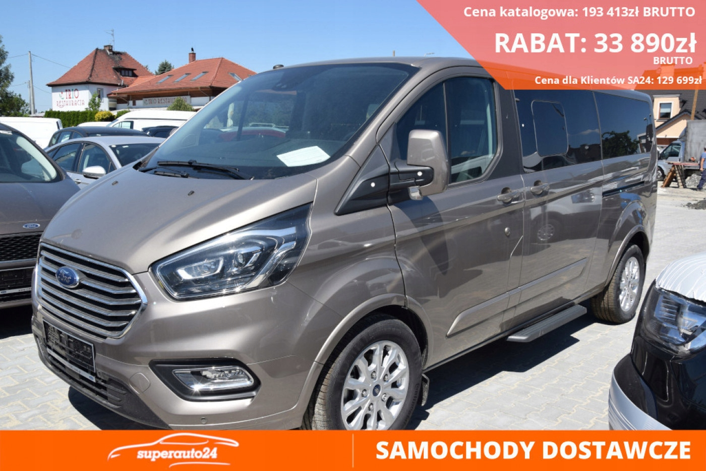 Ford Tourneo Custom Titanium L2 170KM