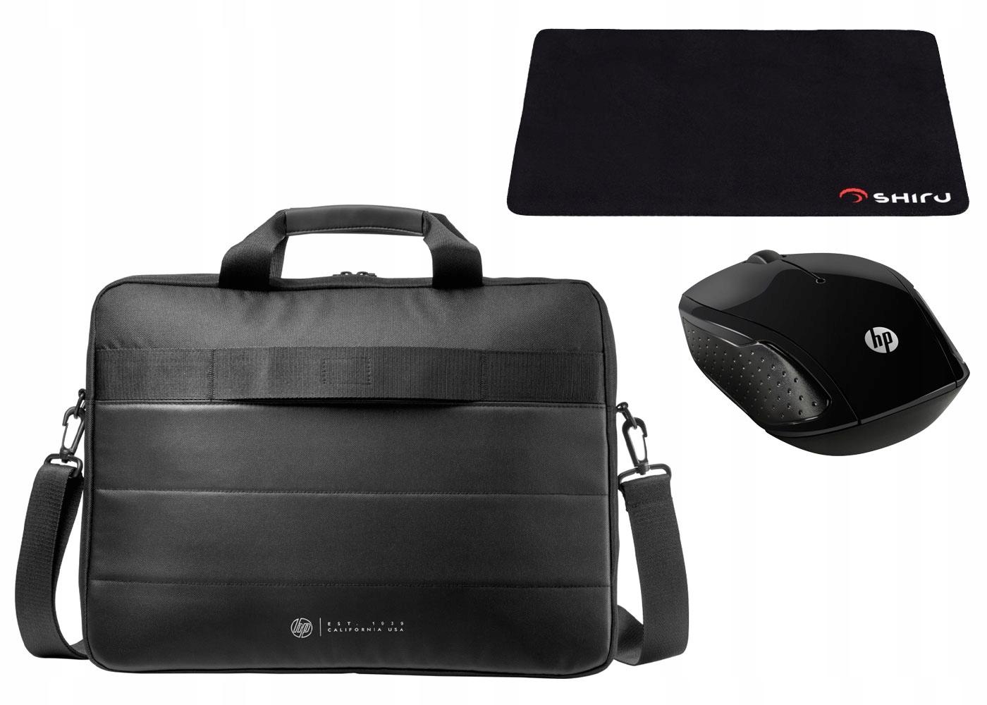 bd573c30e8f67 Torba Na Laptopa HP Classic Briefcase 15,6'+Zestaw - 7383264733 ...