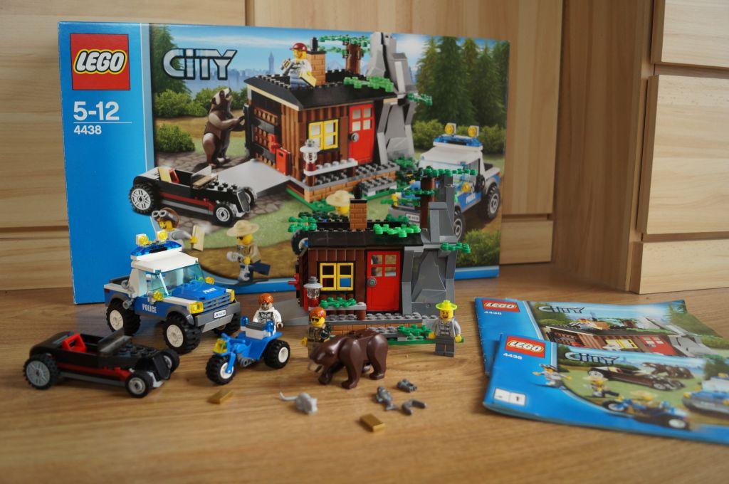 Leśna Policja Lego City 4438 Klocki Zestaw 7084556877 Oficjalne