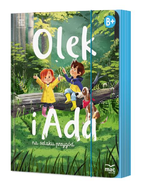 OLEK I ADA Sześciolatek Poziom B+ Pakiet BOX MAC