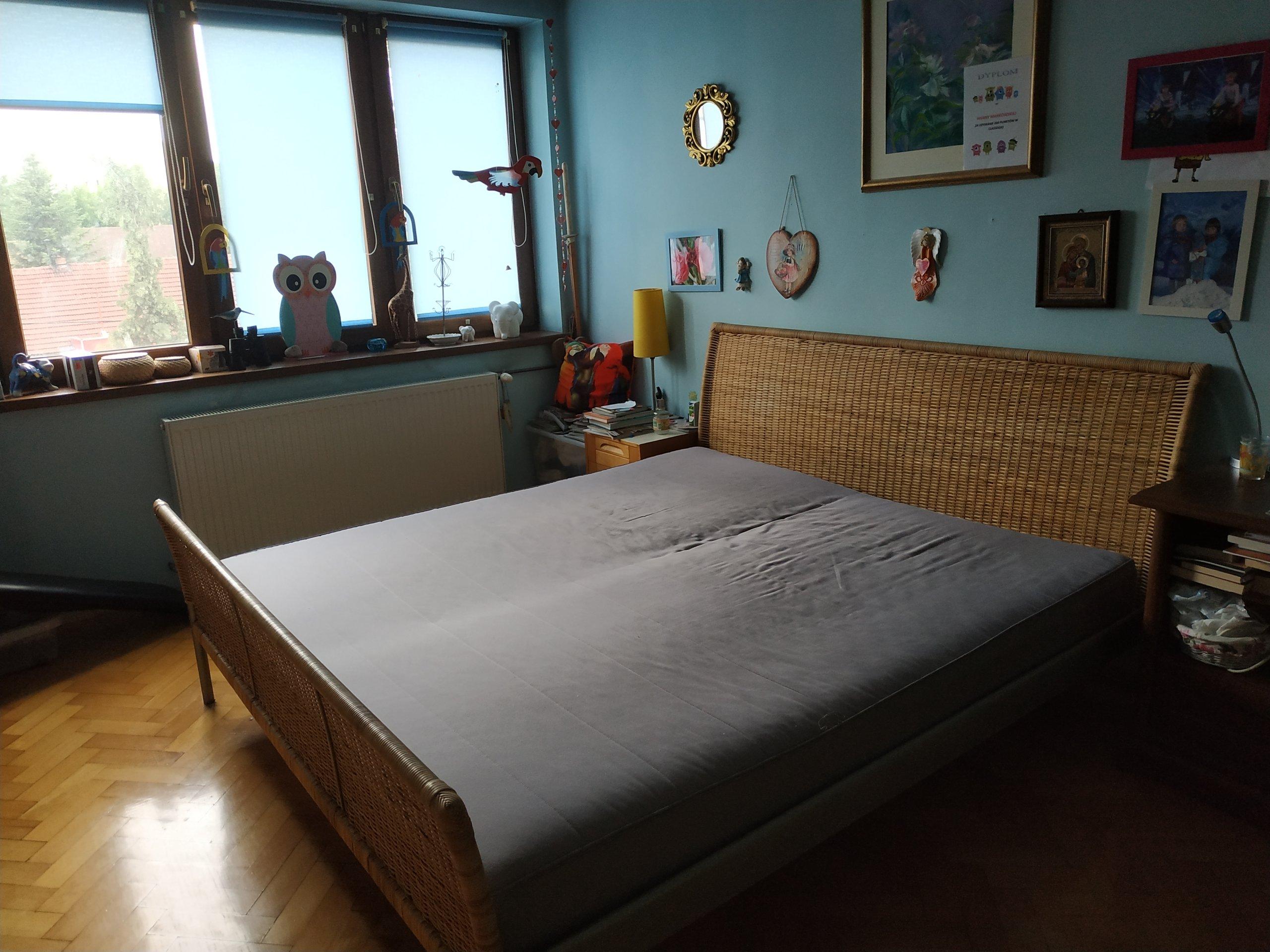 łóżko Sypialnia Ikea Rattan 7418117543 Oficjalne