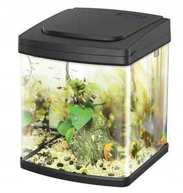 Akwarium 26l czarne HAILEA AU30 LED + filtr