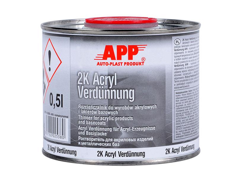 Rozcieńczalnik do akryli i lakierów normalny 0,5l