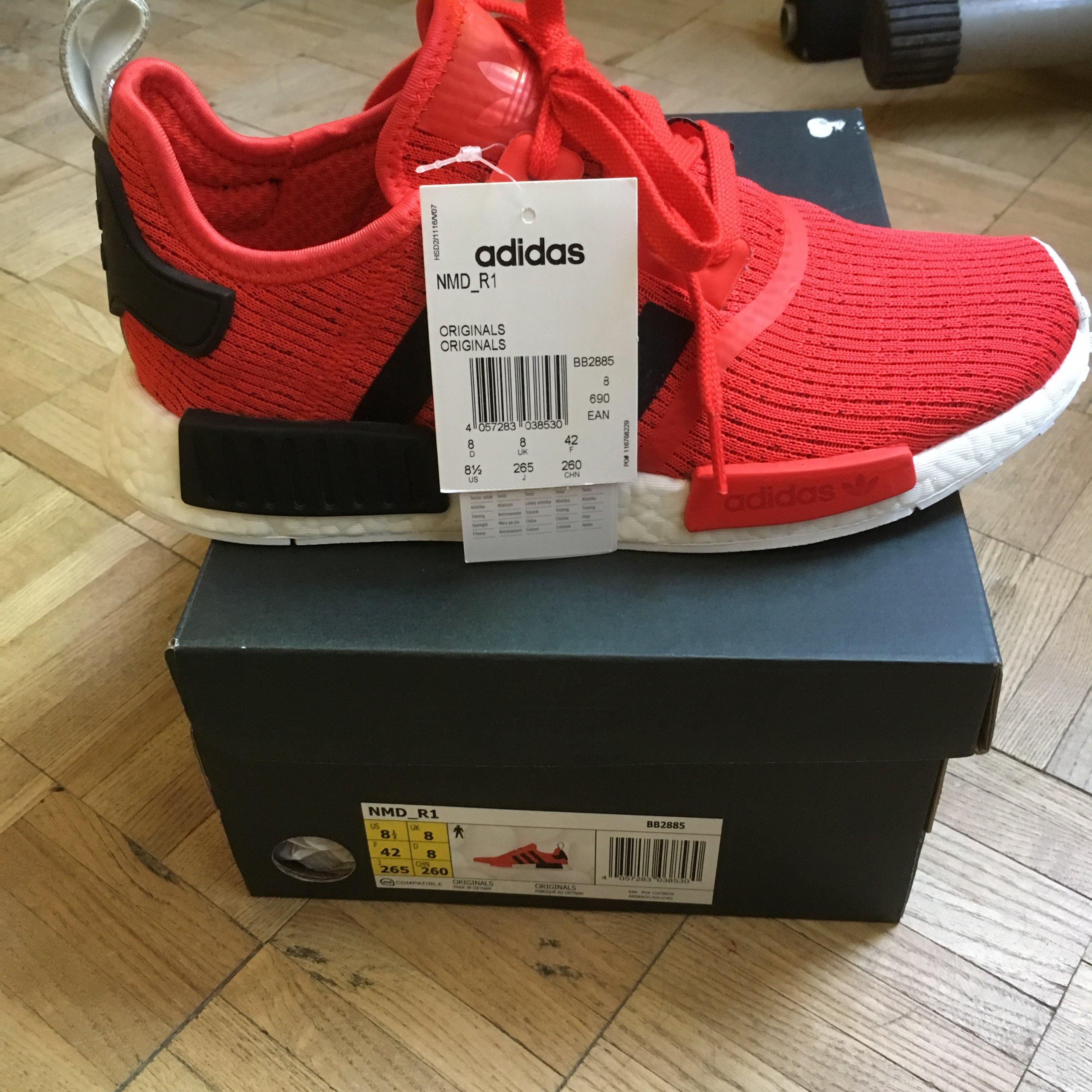 save off 2e700 685dd Adidas NMD R1 BB2885, rozm 42 /Nike Supreme/ - 7326878857 ...