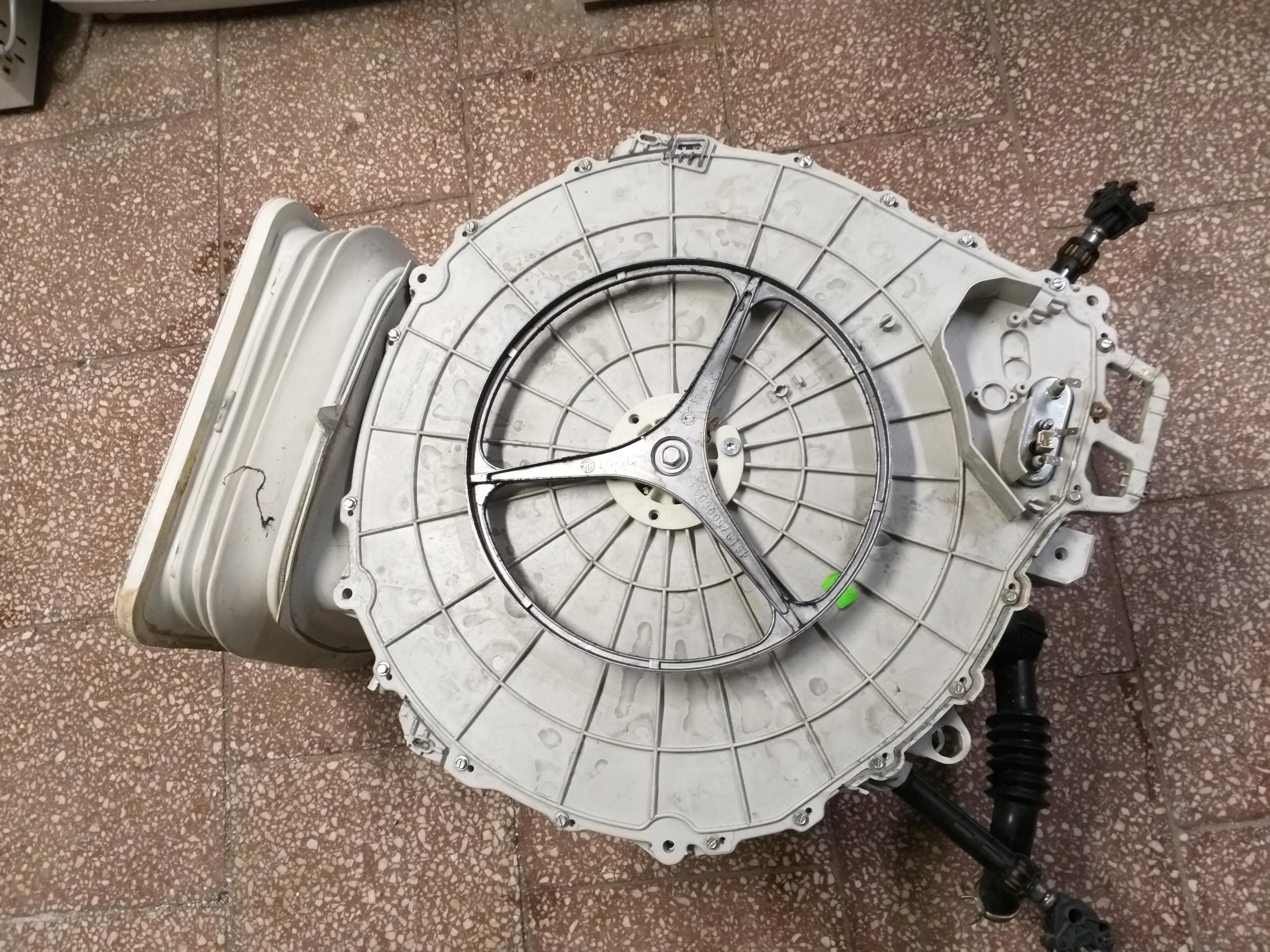 Ogromny Zbiornik bęben pralki Whirlpool AWE 2519 - 7749397308 - oficjalne KJ34