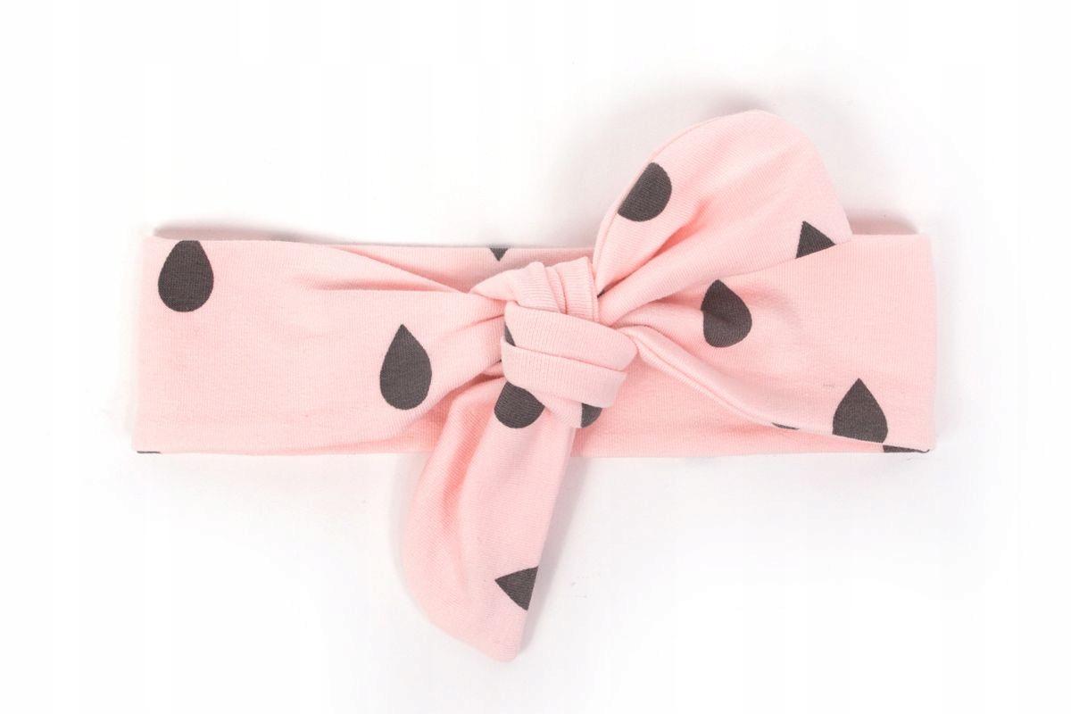 322e354e444418 Titot Pink Drops opaska Pin-up dla dziewczynki róż - 6899833212 ...