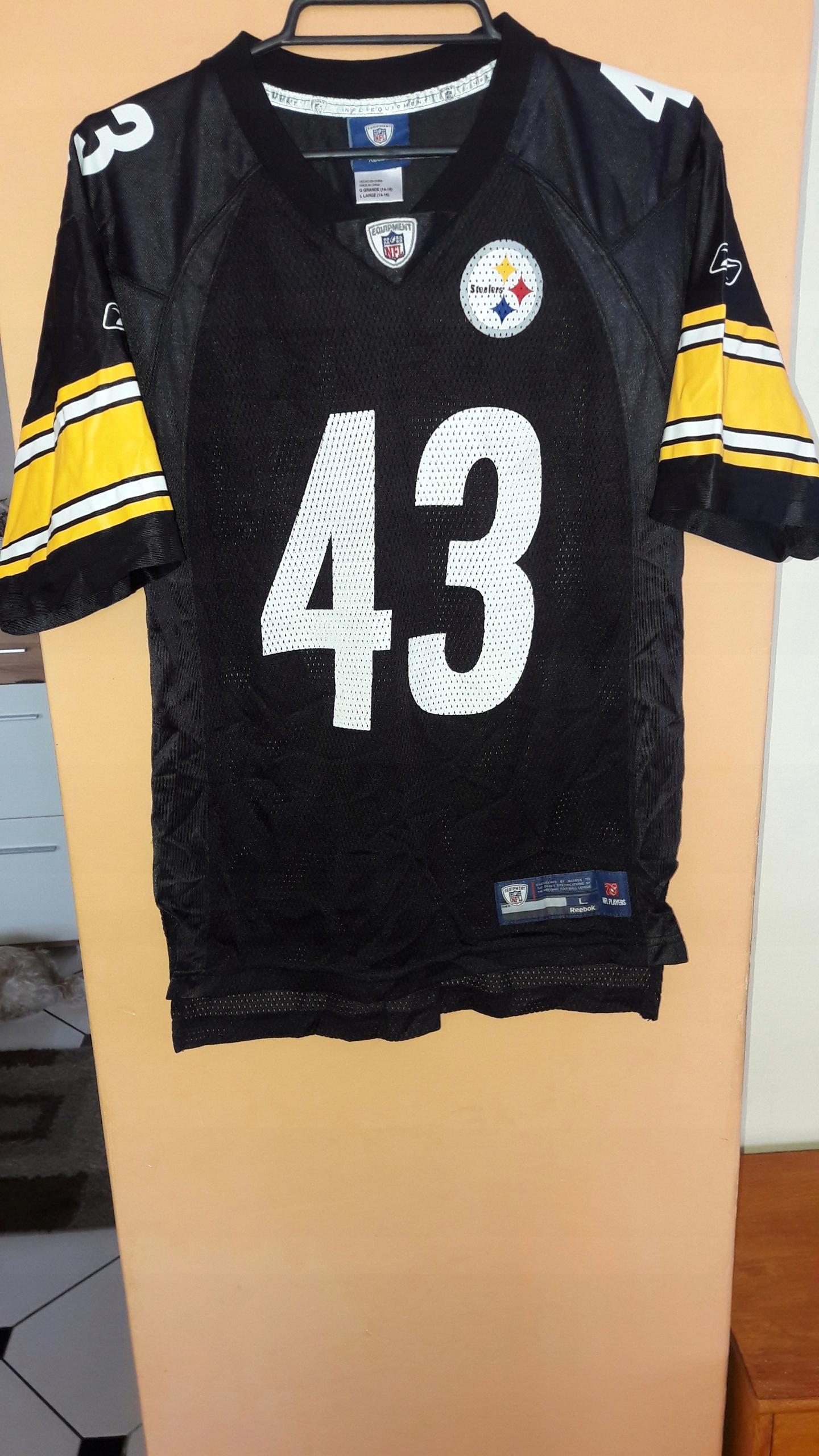 rozmiar 7 słodkie tanie super tanie Koszulka NFL Reebok Steeleres - 7603675623 - oficjalne ...