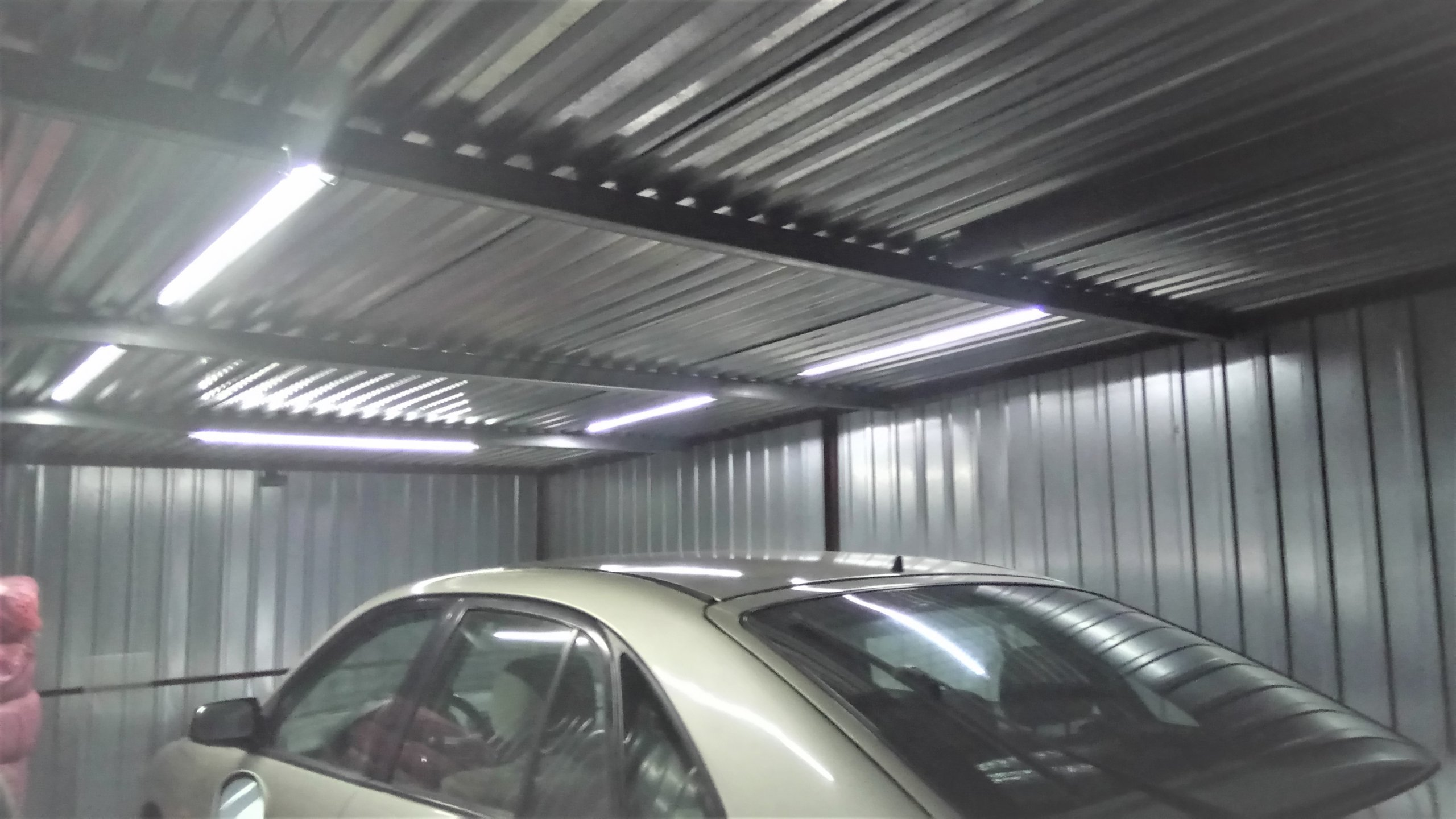 Kompletne Oświetlenie Led Garażu Hit 5x1m Pilot