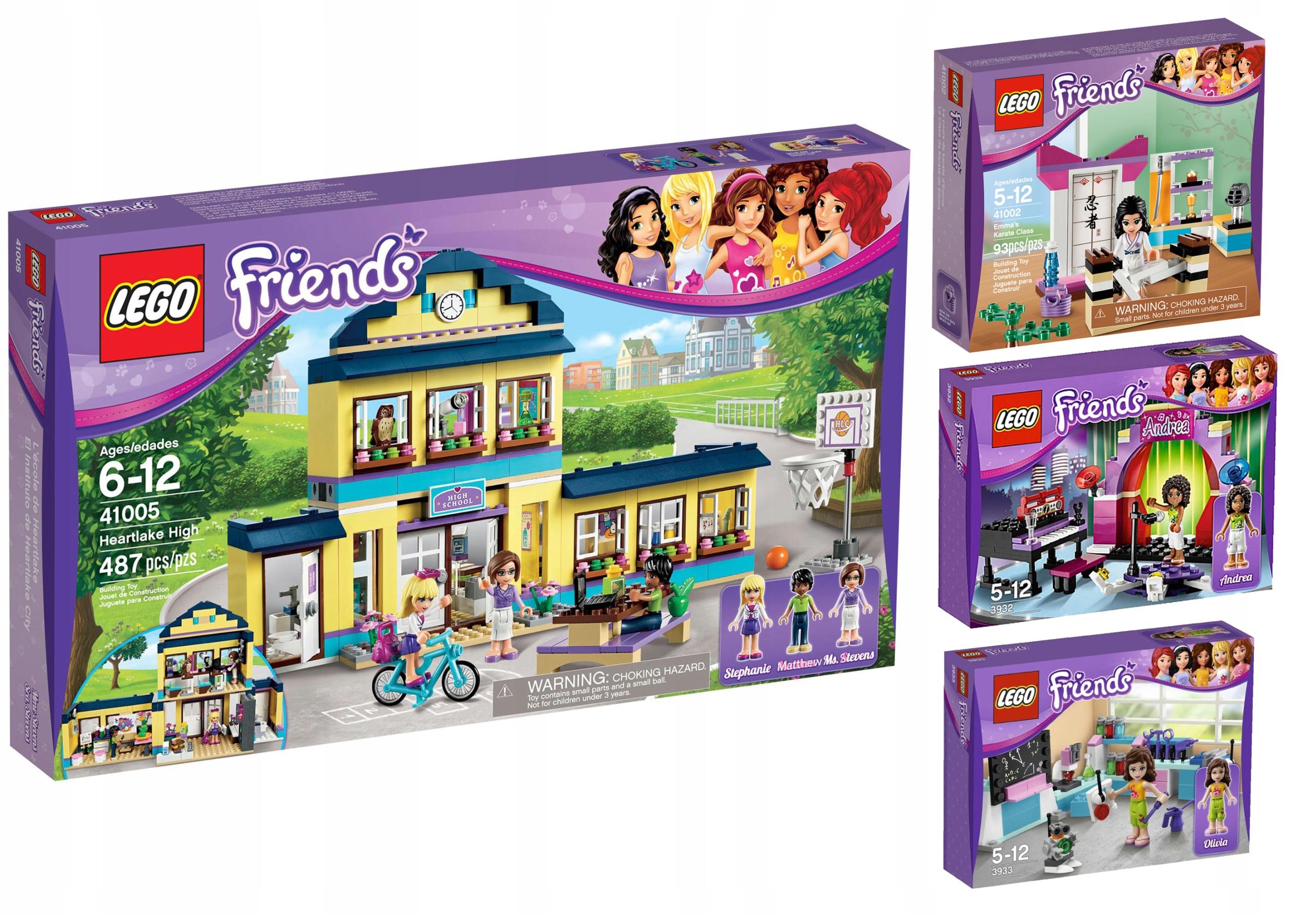 Klocki Lego Zestaw Friends Szkoła 41005 Inne 7477879154