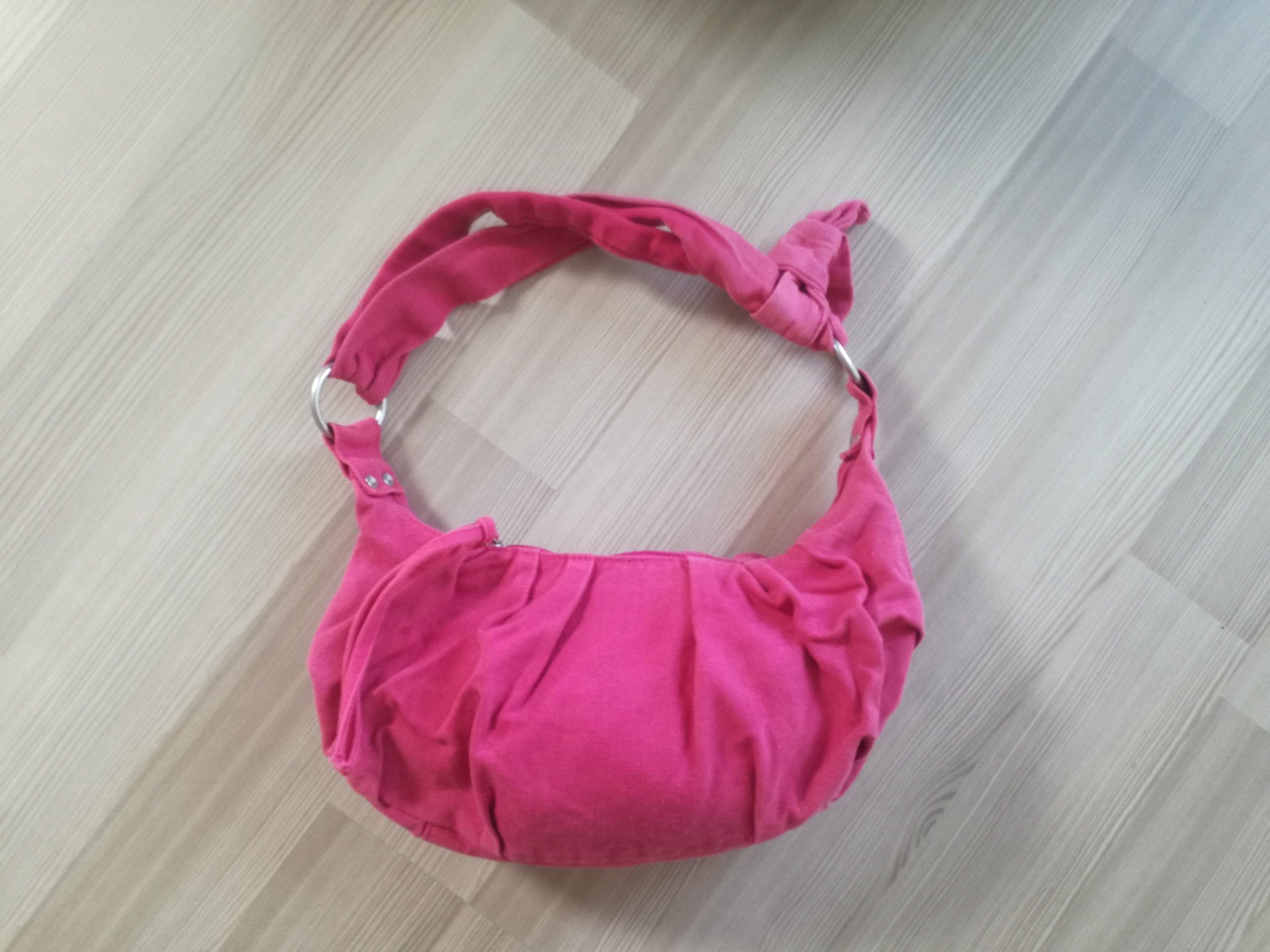 L47 Torebka Damska 3w1 Shopper Kopertówka Różowa