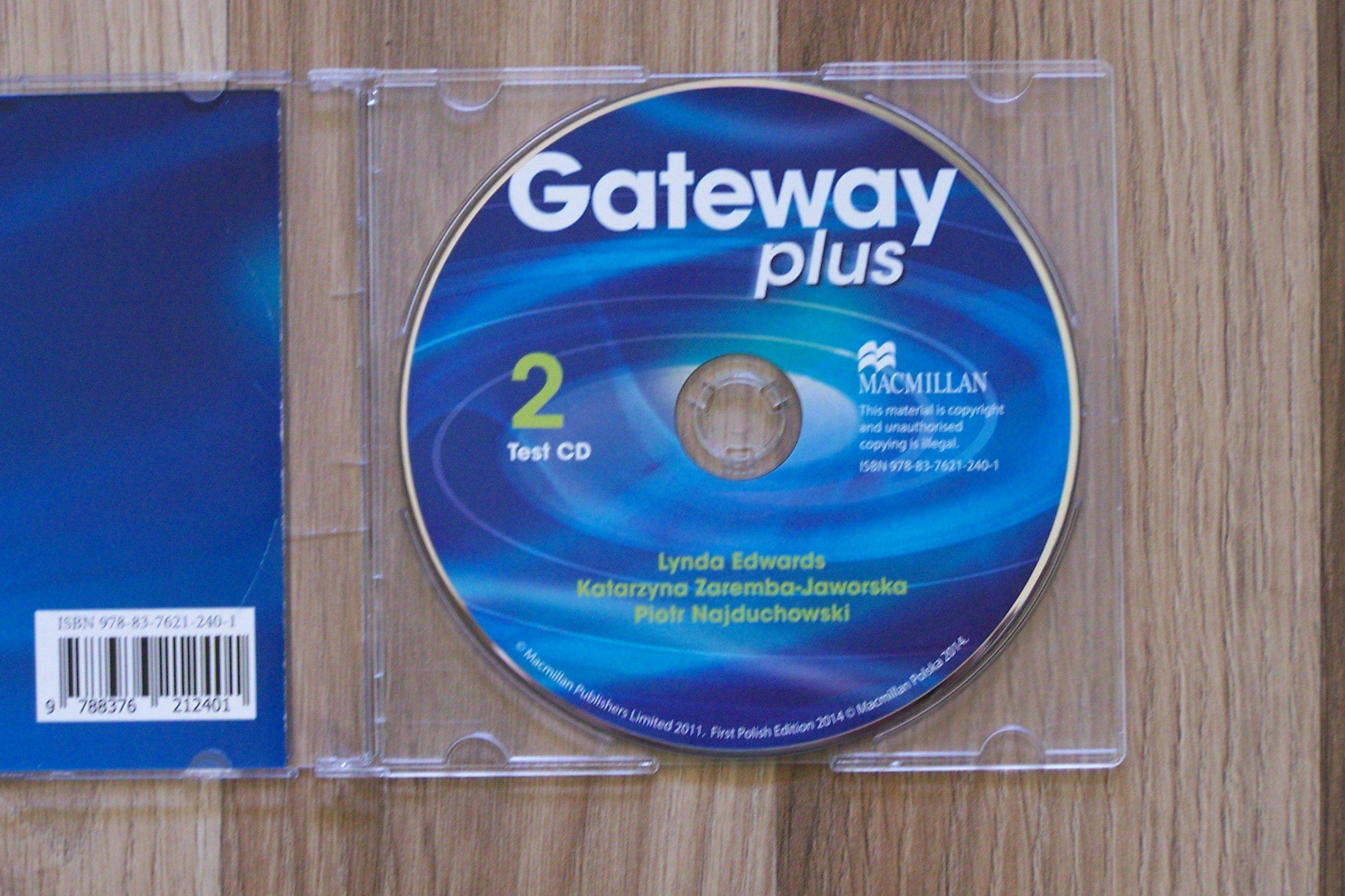 Fantastyczny GATEWAY PLUS 2 TEACHER'S BOOK TESTY SPRAWDZIANY CD - 6686079894 XY27