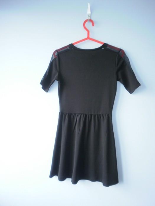 a55d9b8c3a Sinsay czarna sukienka nowa skater rozkloszowana - 7248334690 ...