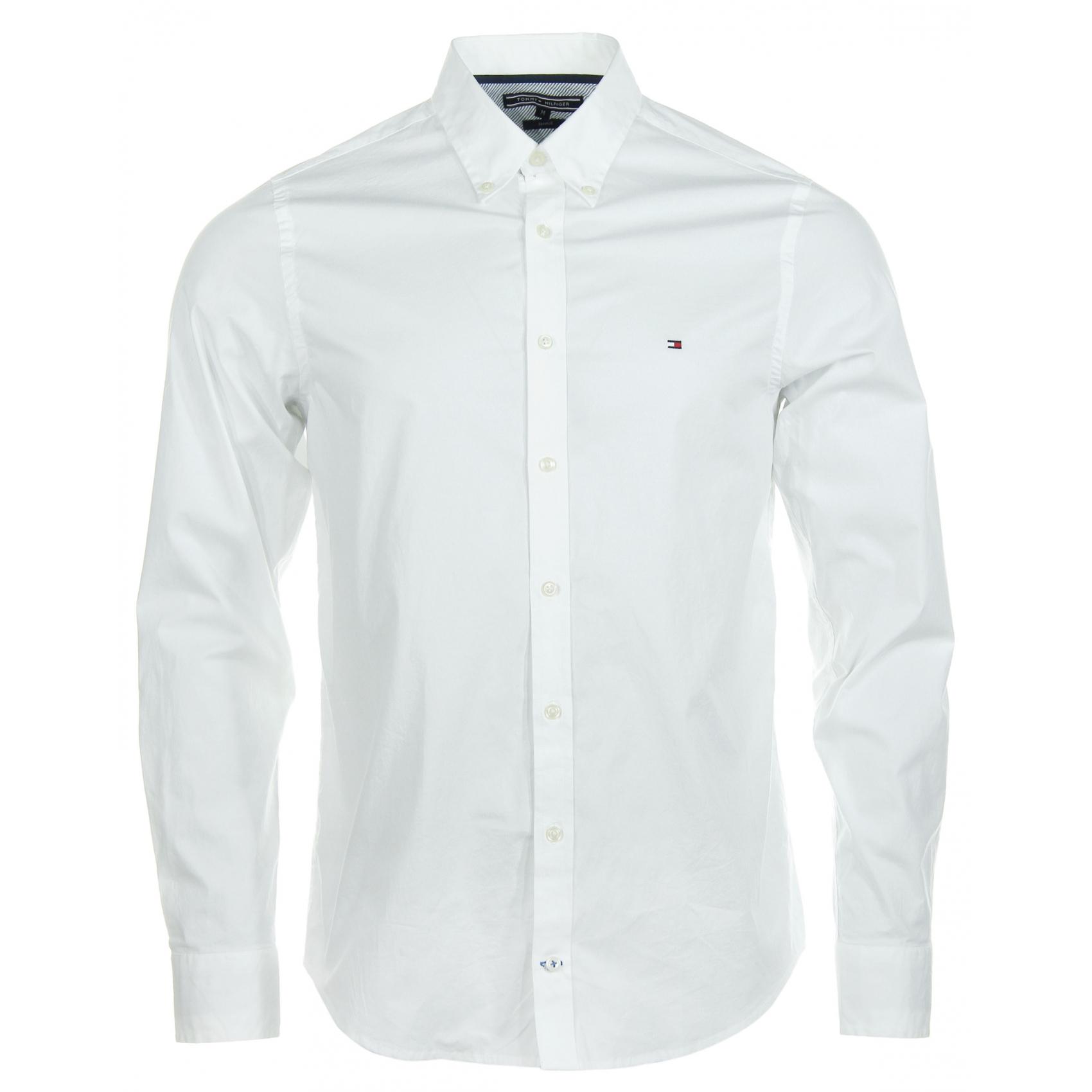 c28abd453 Koszula męska Tommy Hilfiger-Biała-r.L<sklep - 7093537421 ...