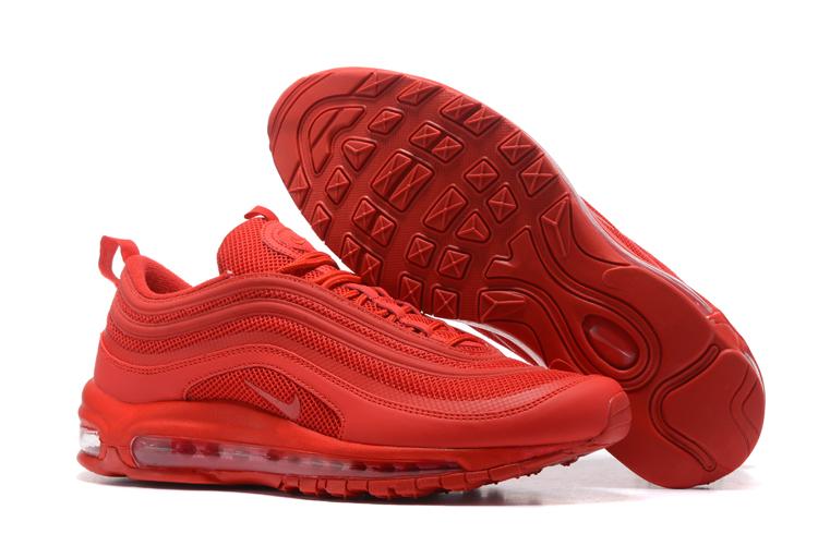 4ce9f5166 Buty Nike Air Max 97 NOWOŚĆ 2017 Czerwone r. 42 - 7035693988 ...