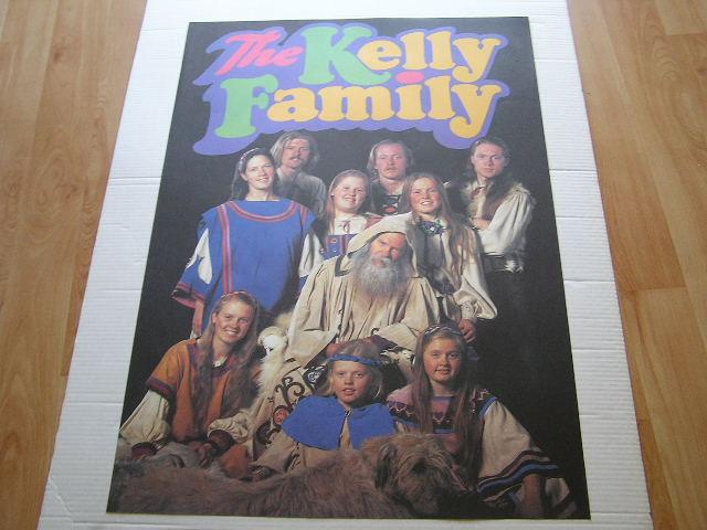 Stary Plakat The Kelly Family56 5631444947 Oficjalne