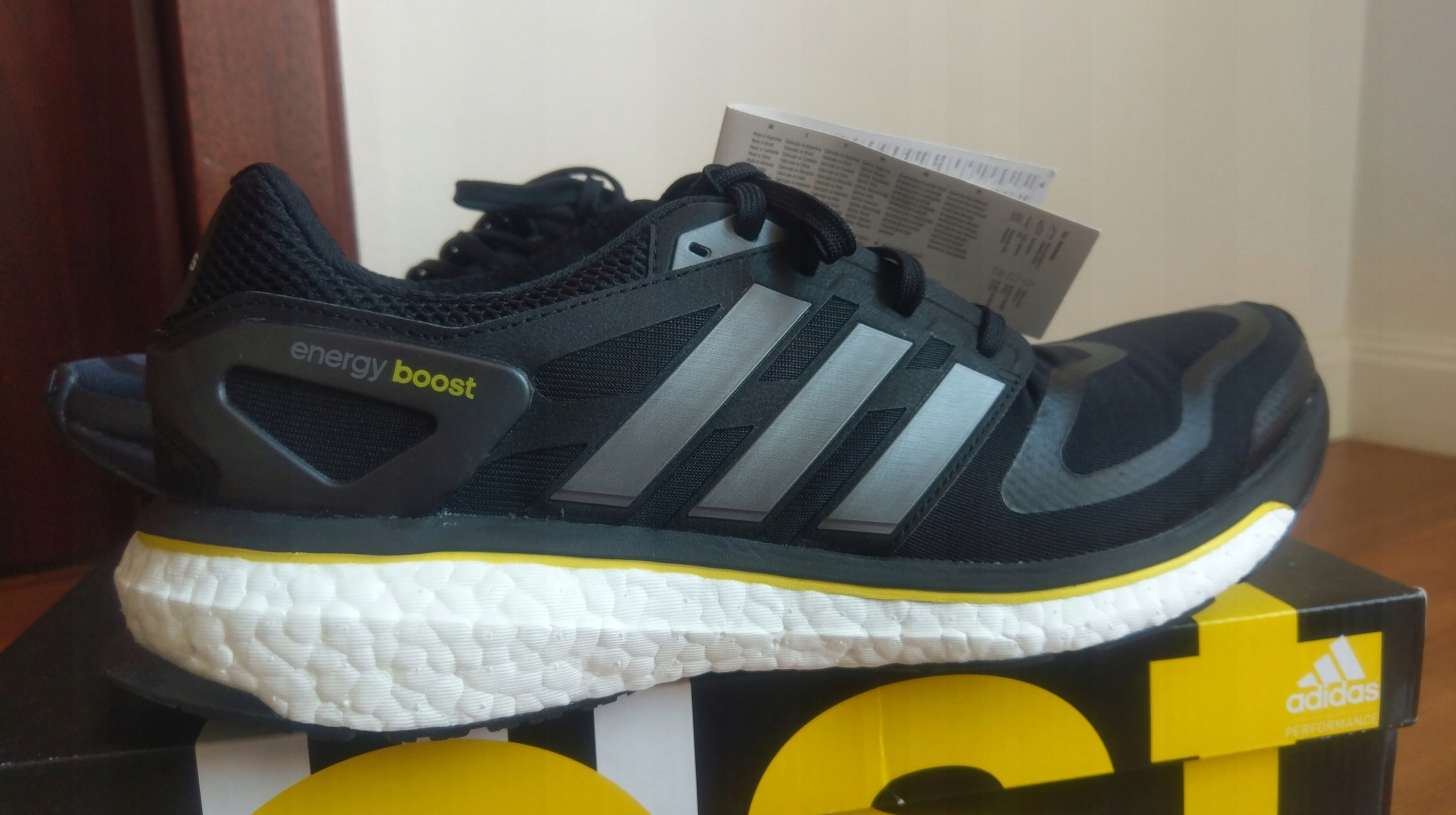 new product 4f0ca 0f8cb Adidas Energy Boost G64392 black (nie Ultraboost)