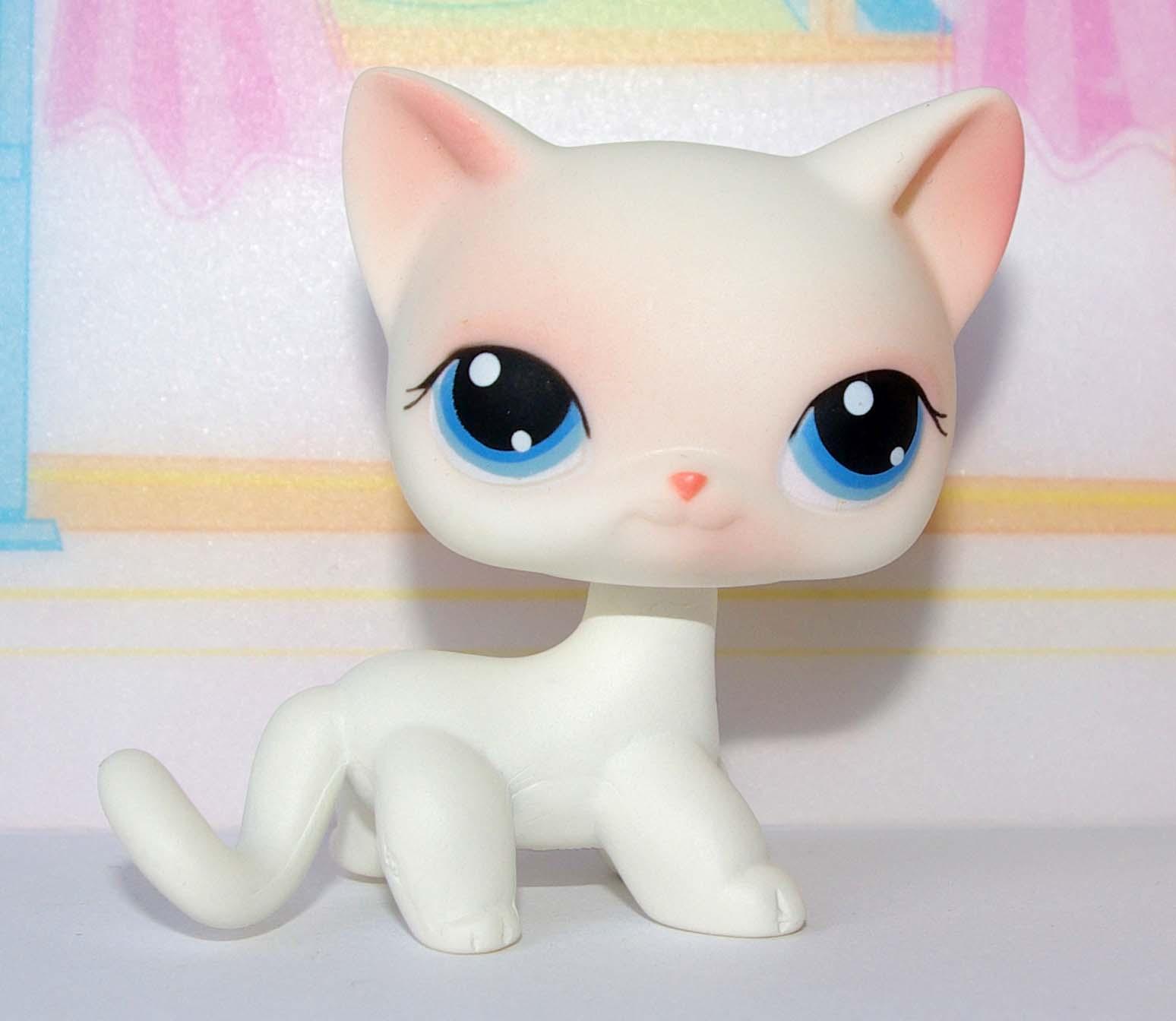 Kot Kotek Shorthair Littlest Pet Shop Lps Albinos 7108324474
