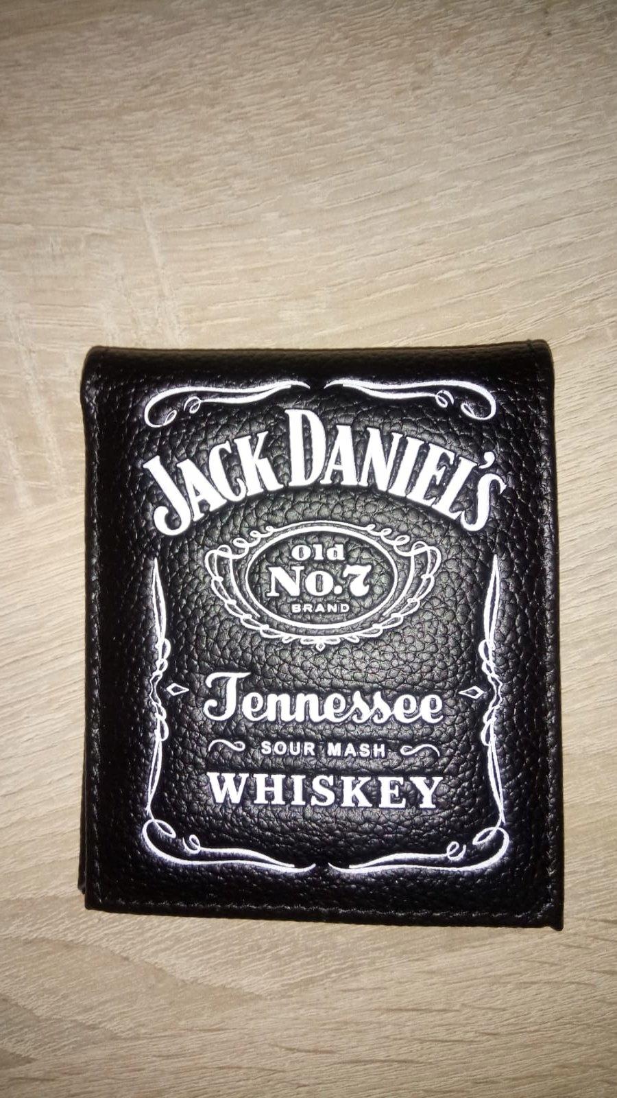 461d96999b3eb Portfel Jack Daniels Męski Czarny - 7373752449 - oficjalne archiwum ...