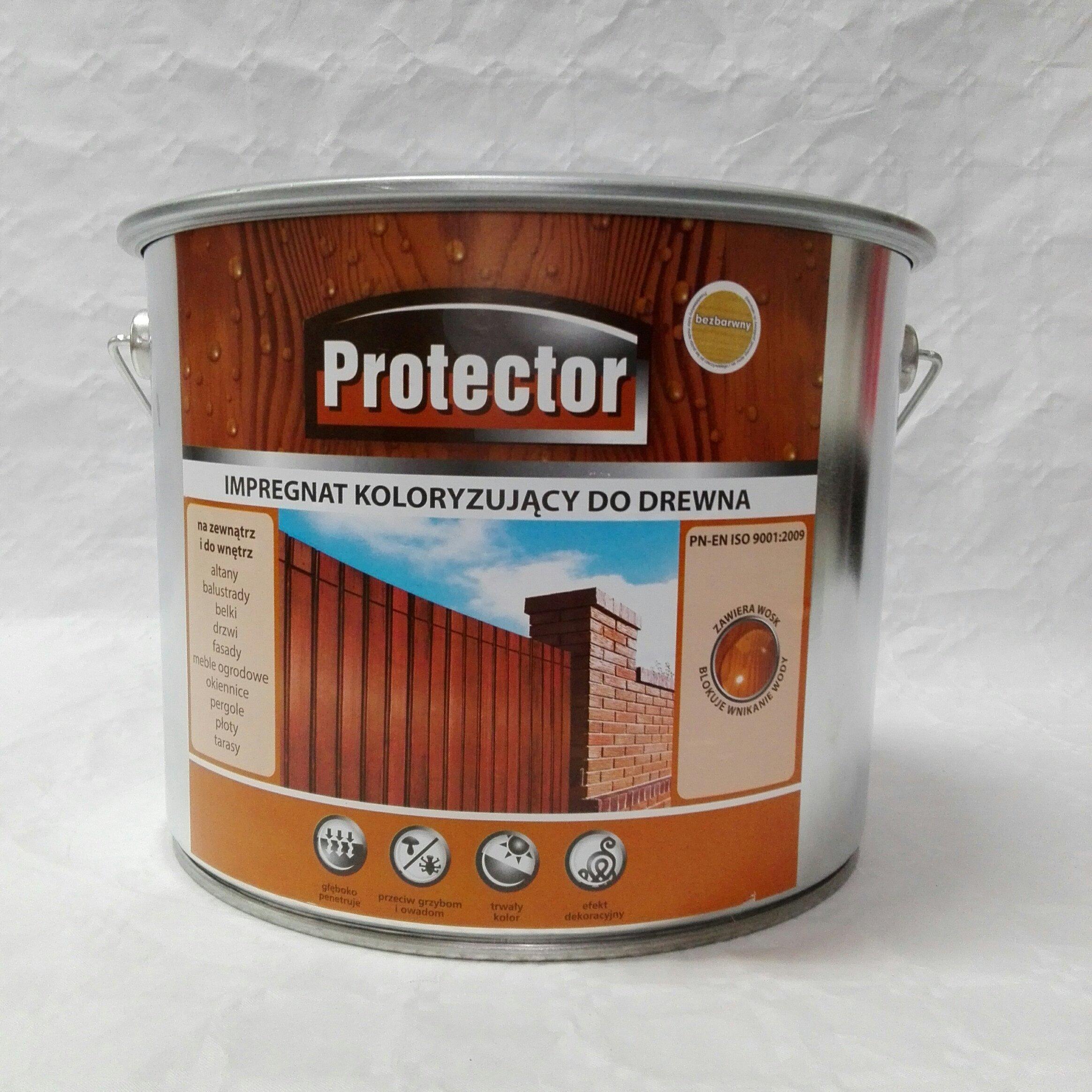 Protector Impregnat Koloryzujący Do Drewna 10 Ltr