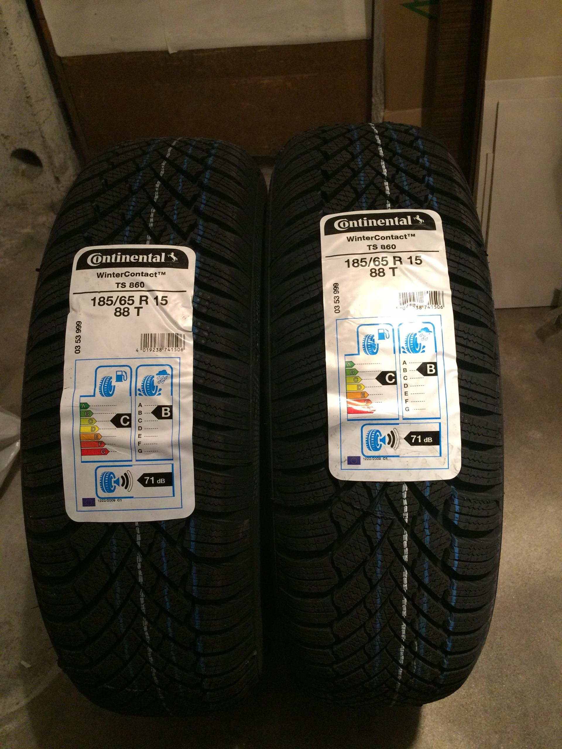 2x Opony Zimowe Continental 18565 R15 7649452696 Oficjalne