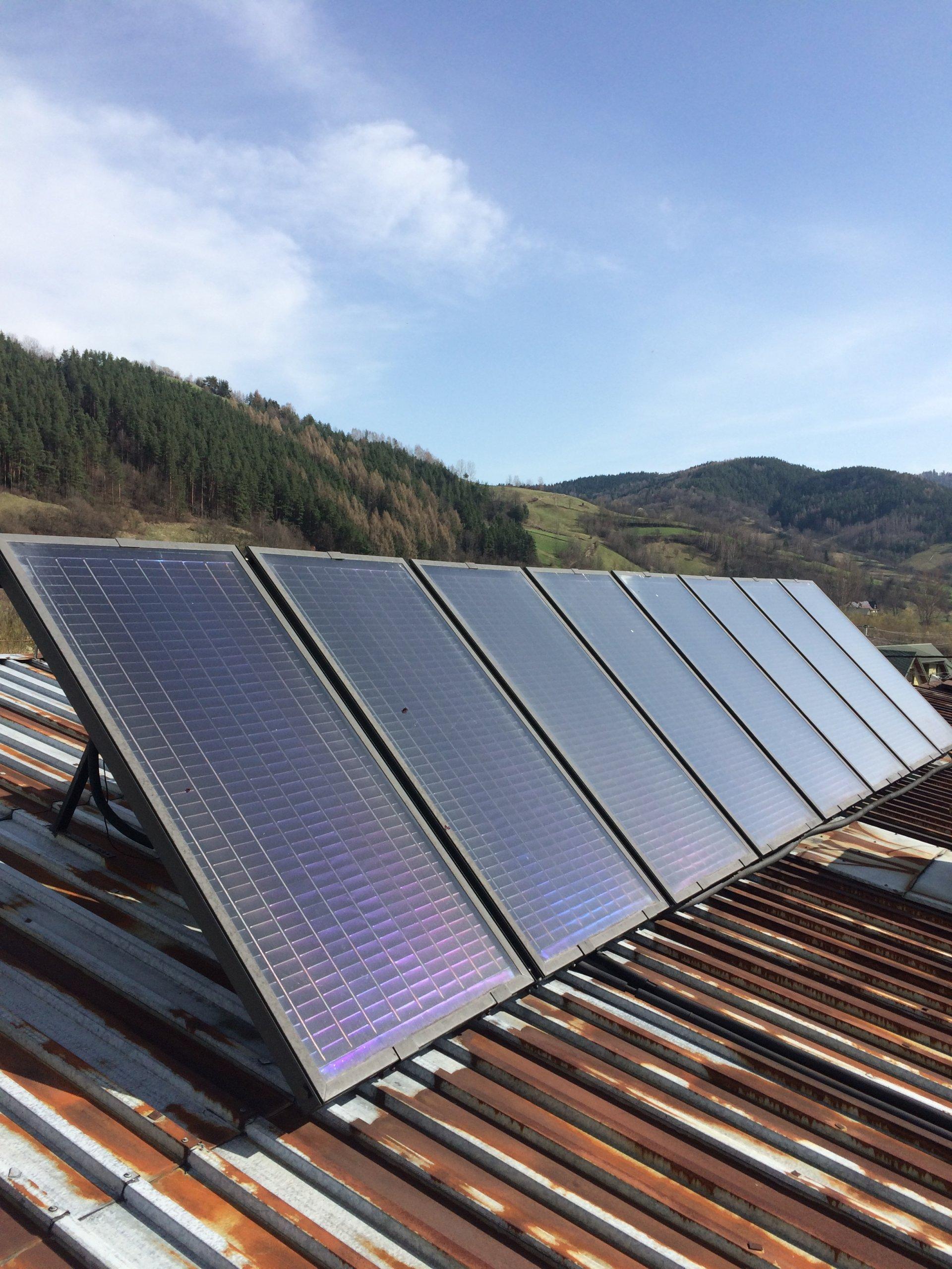 Zupełnie nowe Kolektory słoneczne używane z demontażu sprawne - 7295358211 HY08