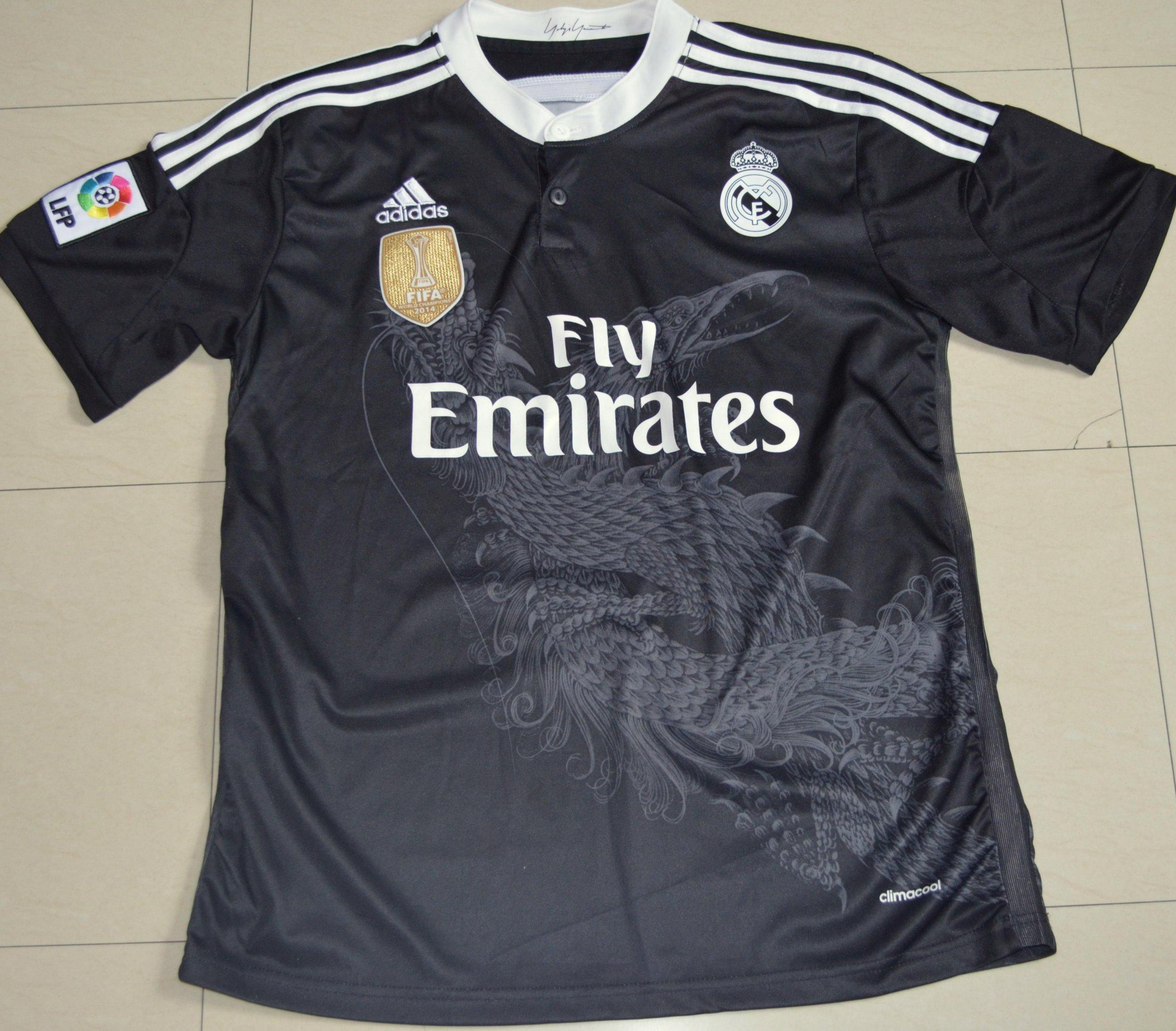 Zupełnie nowe Koszulka Real Madryt 2014/15 Fly Emirates Adidas M - 7198834933 RD72