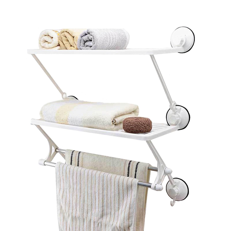 Wieszak łazienkowy Półka Na Ręczniki Przyssawki 6847252423