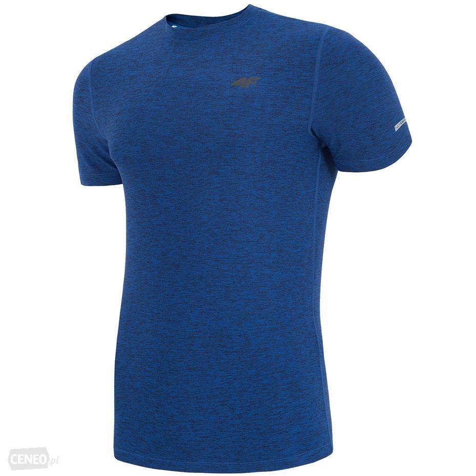 356ef9f06955fd Męska koszulka T-Shirt 4F TSMF001 fitness gym M - 7157969267 ...