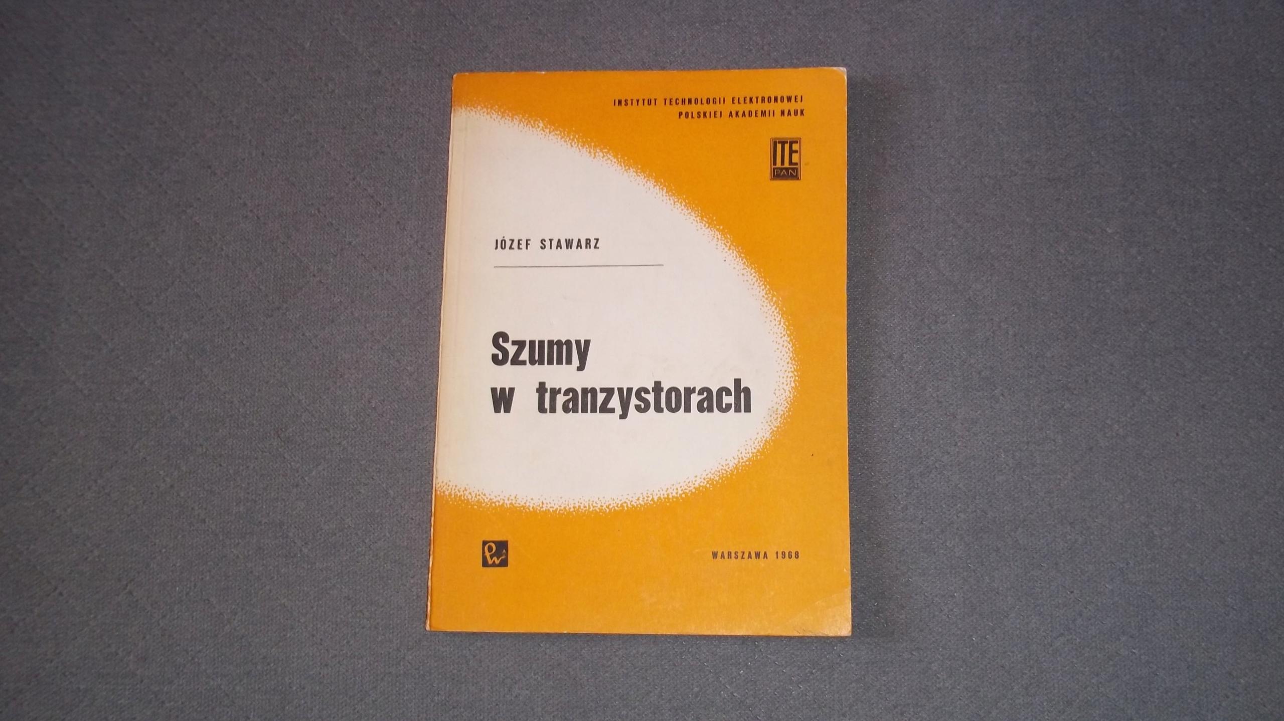Książka Szumy w Tranzystorach